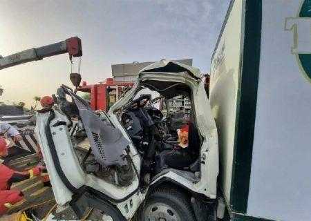 تصادف زنجیره ای مرگبار در محور سبزوار اسفراین