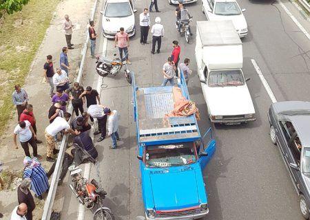 ۵۵ درصد مصدومان تصادفهای قم موتورسواران هستند