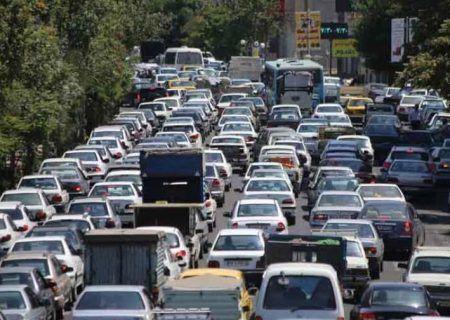 وضعیت ترافیک معابر اصلی پایتخت در نخستین صبح پاییزی