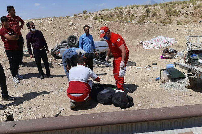 تصادف در ایلام یک کشته و ۴ زخمی بر جای گذاشت