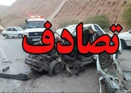 حادثه رانندگی در آزادراه خلیج فارس منجر به فوت 2 نفر شد