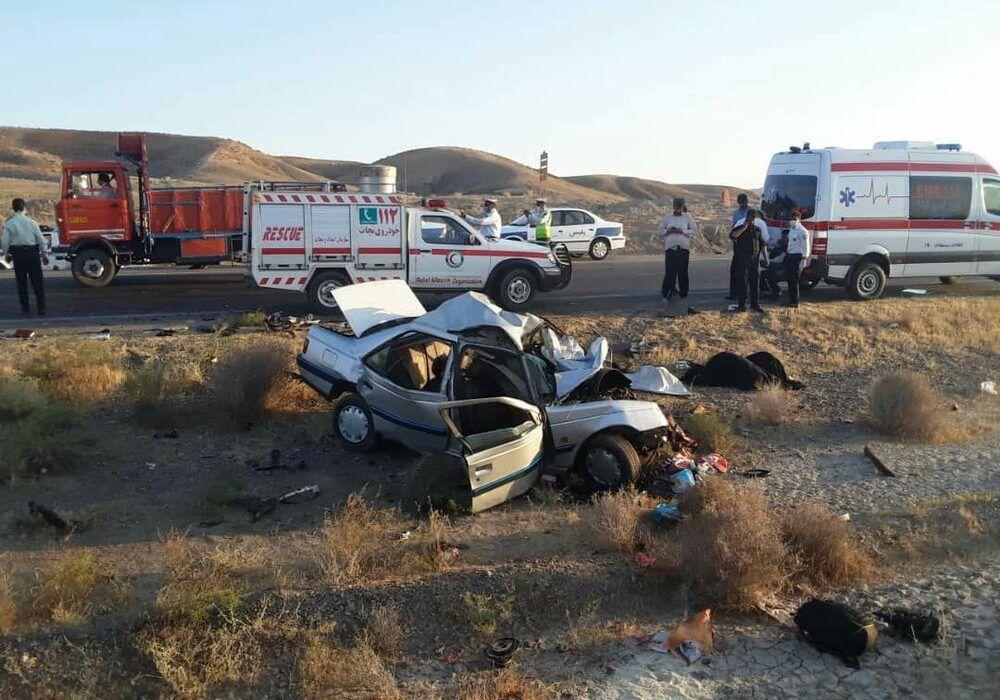 حادثه مرگبار در محور سرخس به مشهد / تصادف نیوز