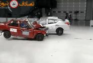 نبرد خودروهای قدیمی و جدید -تست تصادف برخورد خودرو ها با هم
