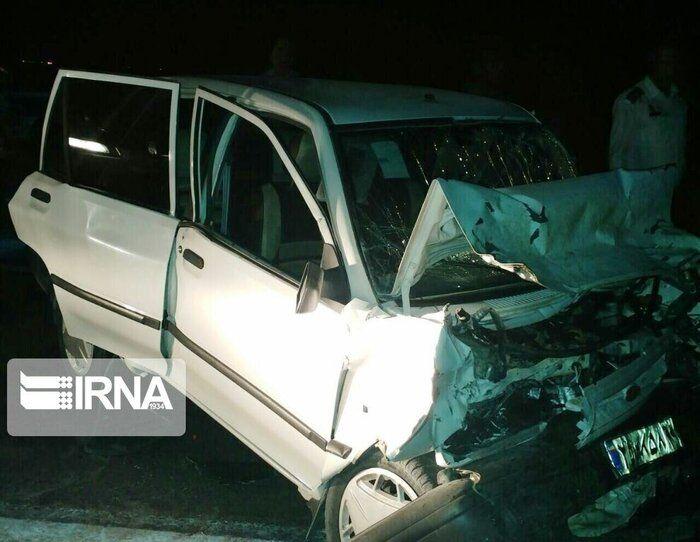 تصادف در بیجار یک کشته و سه مصدوم برجای گذاشت