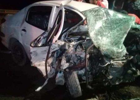 تصادف مرگبار قزوین- رشت ۲ کشته و یک مصدوم بر جای گذاشت.