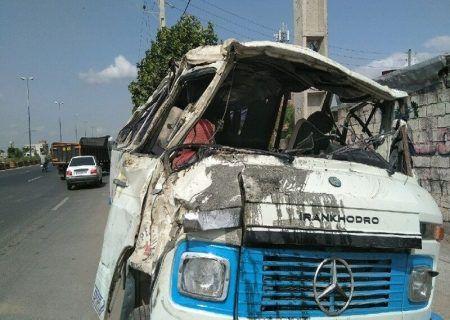 تصادف مرگبار مشهد-نیشابور ۱۲ مصدوم بر جای گذاشت