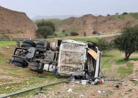 تصادف مرگبار تریلی در گردنه اسدآباد ۲ کشته برجا گذاشت