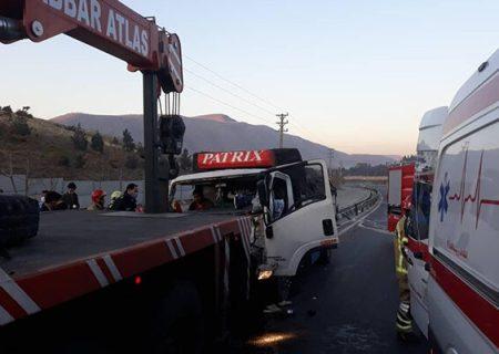 تصادف مرگبار اراک یک کشته و یک مجروح در این سانحه رانندگی داشت