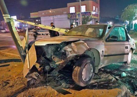 تصادف مرگبار سیستان و بلوچستان ۶ کشته و سه مجروح برجا گذاشت.