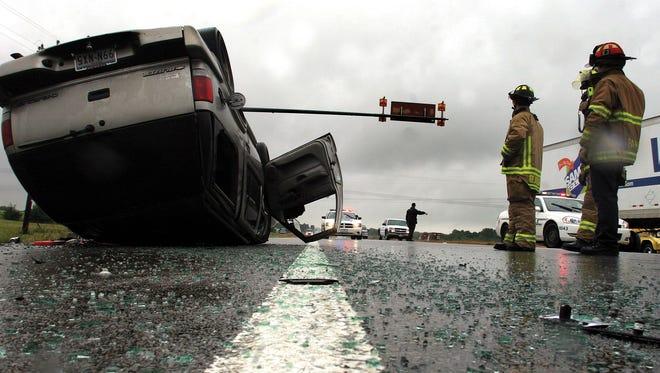 نکات رانندگی در باران - تصادف در باران