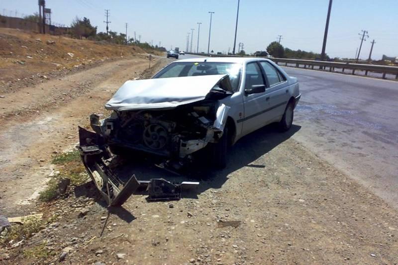 تصادف مرگبار در ایلام تجاوز به چپ سواری پژو405 مرگ یک نفر را رقم زد