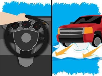 خارج کردن خودرو از برف