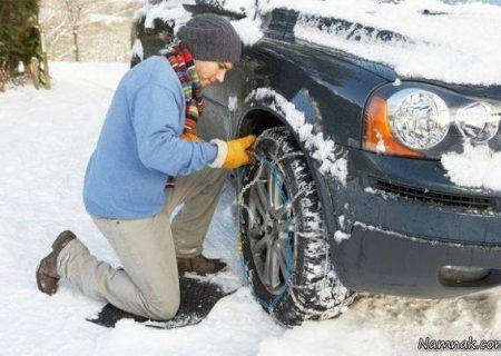 رانندگی در فصل زمستان و روش صحیح رانندگی در جاده لغزنده