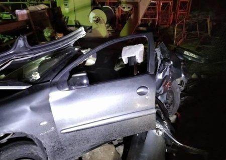 تصادف مرگبار پژو 206 در بزرگراه آزادگان 1 نفر کشته و 3 مصدوم داشت
