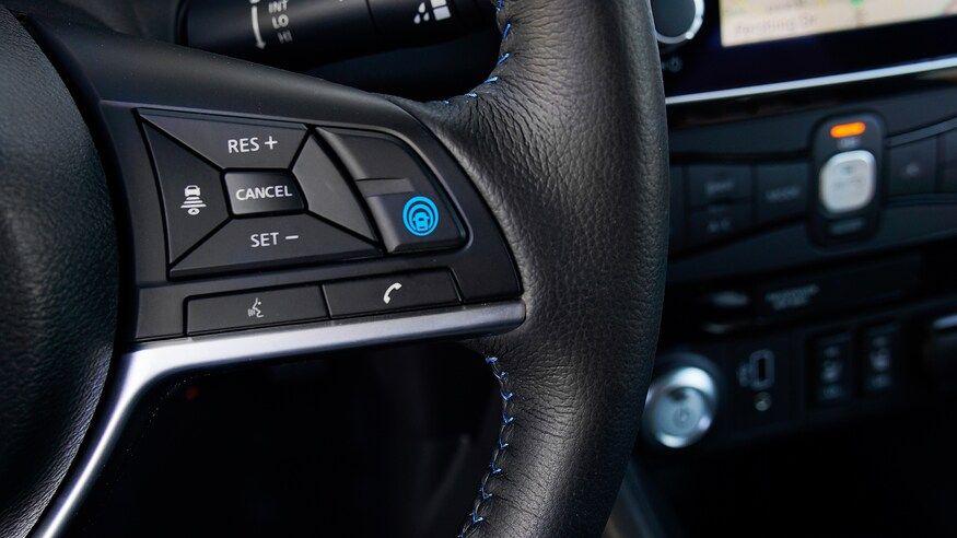 دکمه سیستم کنترل کروز