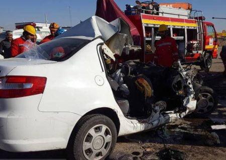 حادثه رانندگی در بیستون ۲ کشته به جا گذاشت