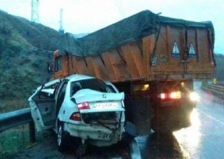 تصادف مرگبار در کرمانشاه ۵ کشته داشت