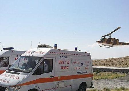 تصادف دو دستگاه کامیونت،سه نفر مصدوم داشت