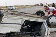 واژگونی خودرو در همدان-رزن فوتی نداشت