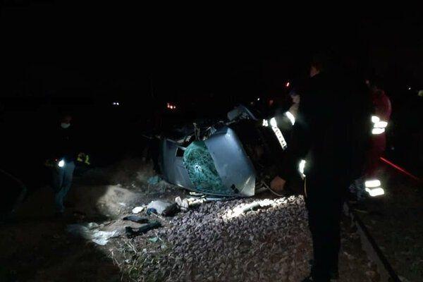 تصادف محور لنجان ۹ نفر در این سانحه مصدوم شدند