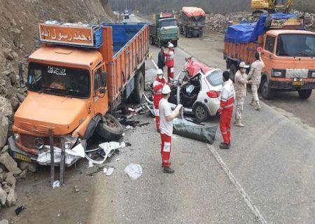 تصادف در آستارا-اردبیل یک کشته داشت