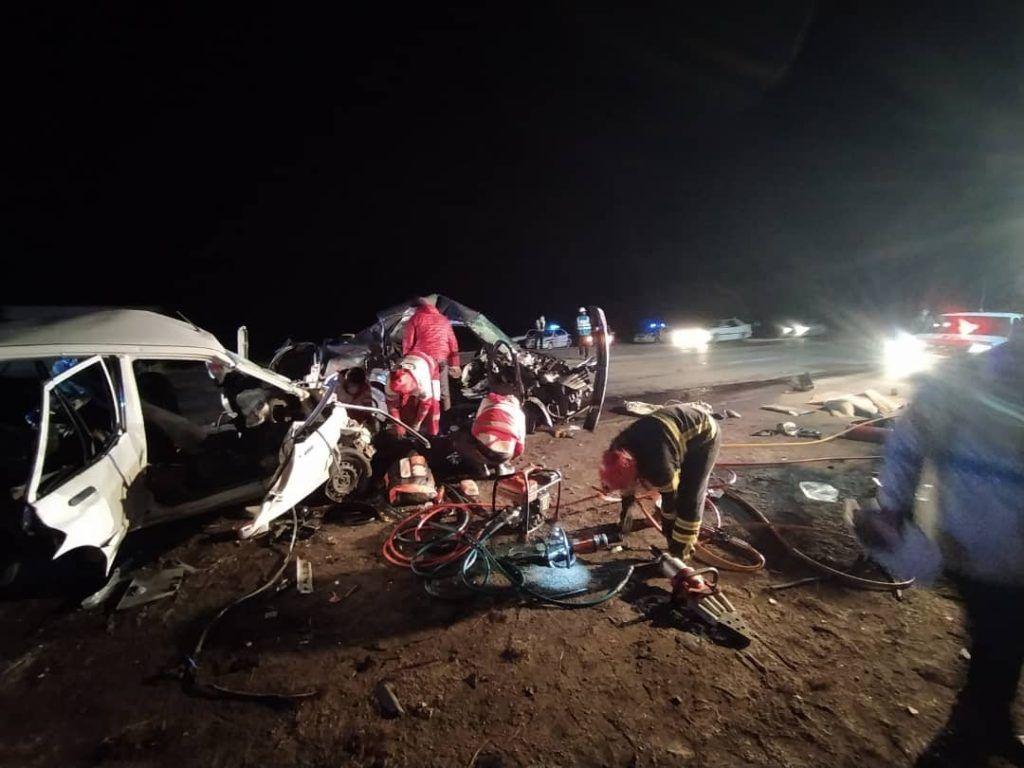 مرگ هنرمندان ارومیه ای در سانحه  تصادف رانندگی  در محور سلماس به ارومیه