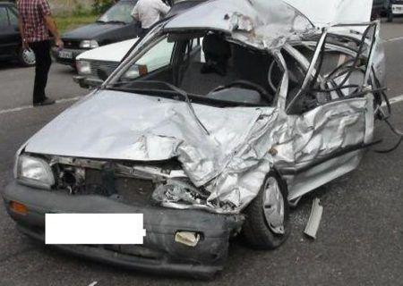 تصادف مرگبار سیرکان–سراوان یک کشته داشت