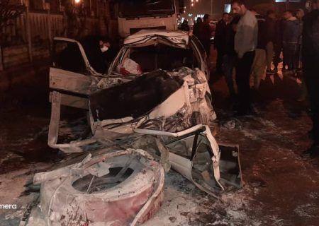 تصادف مرگبار محور حسنرود در گیلان ۳ نفر فوتی برجا گذاشت