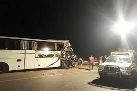 تصادف مرگبار اتوبوس با تریلی در خراسان رضوی ۴۹ مصدوم داشت