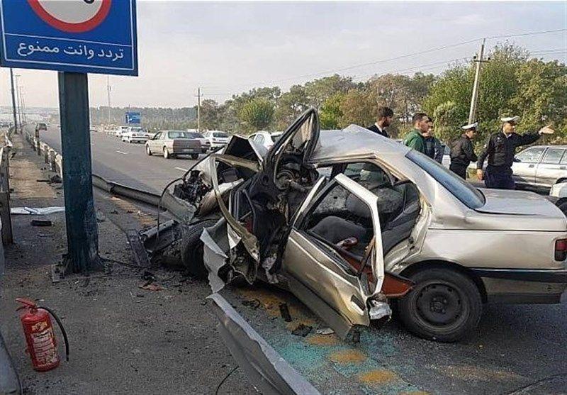 خبر آمار تصادفات جادهای در تهران که ماهانه جان ۷۰ نفر را میگیرد