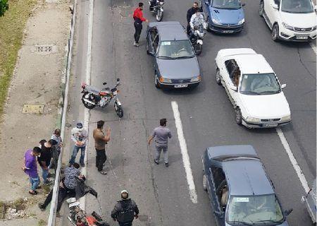 آمار تصادف مرگ تهران مربوط به موتورسواران است