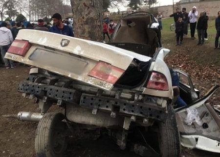 تصادف مرگبار در گرگان ـ کردکوی۳کشته برجا گذاشت