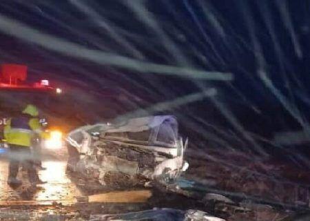 آمار تصادف زنجیرهای در اتوبان استان ابهر به تاکستان با ۶۷ کشته و زخمی