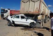 خبر تصادف مرگبار ۴ عضو یک خانواده در محور راور – کرمان