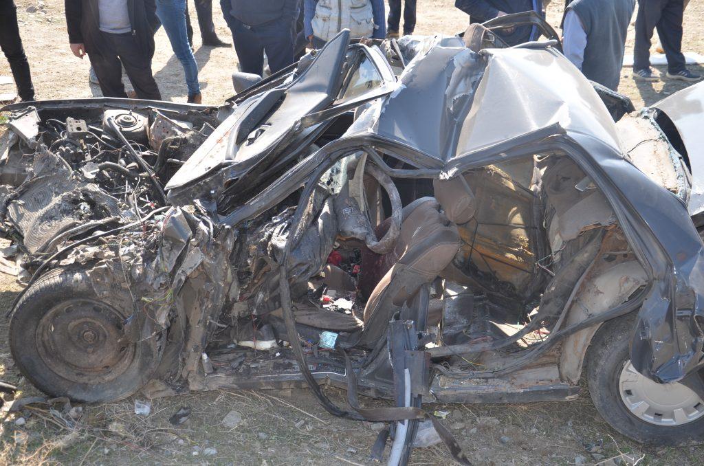 خبر تصادف مرگبار در محور تسوج-شبستر  با 4 کشته و یک مصدوم