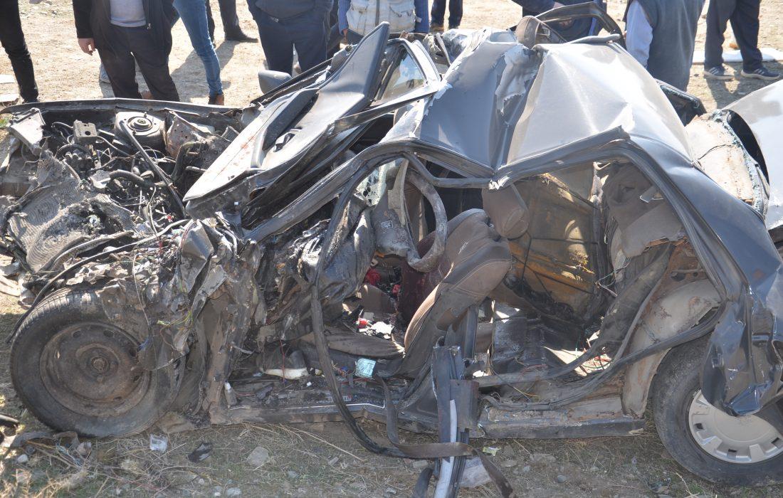 تصادف مرگبار محور تسوج-شبستر  با ۴ کشته و یک مصدوم