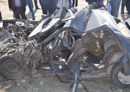 تصادف مرگبار محور تسوج-شبستر  با 4 کشته و یک مصدوم