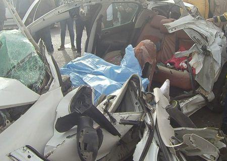 تصادف امروز محور تالش – آستارا جان یک نفر را گرفت