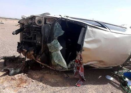 تصادف امروز در کیش ۲ نفر جان خود را از دست دادند