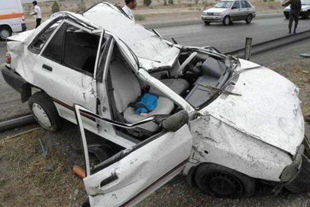 ۲ کشته و ۲ مصدوم در سانحه رانندگی محور تبریز