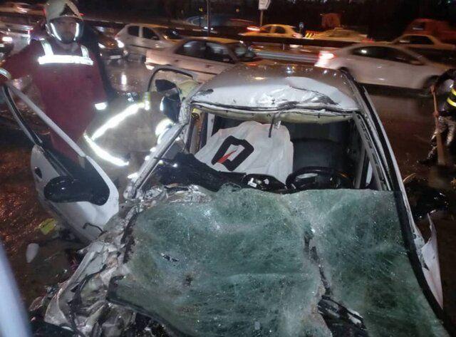 تصادف مرگبار امروز در لرستان دو کشته برجای گذاشت