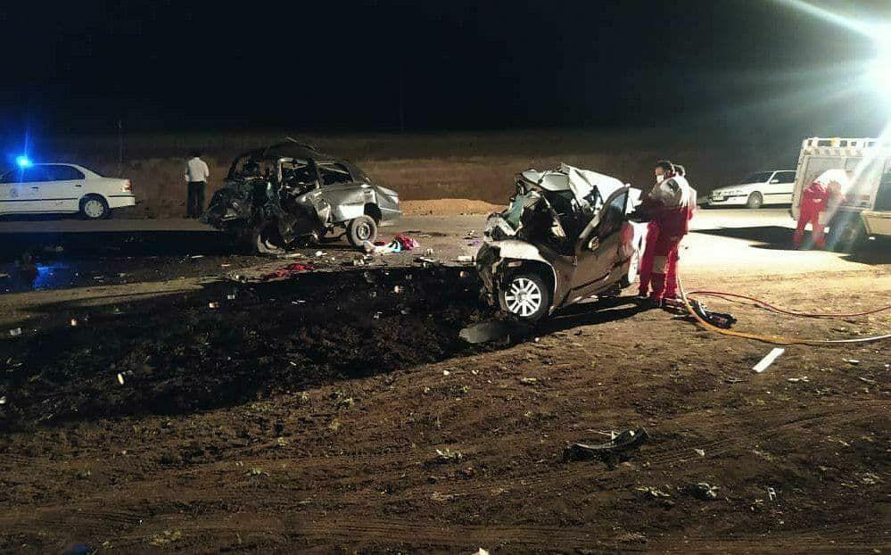 خبر تصادف مرگبار امروز در اردبیل 5 نفر کشته داشت