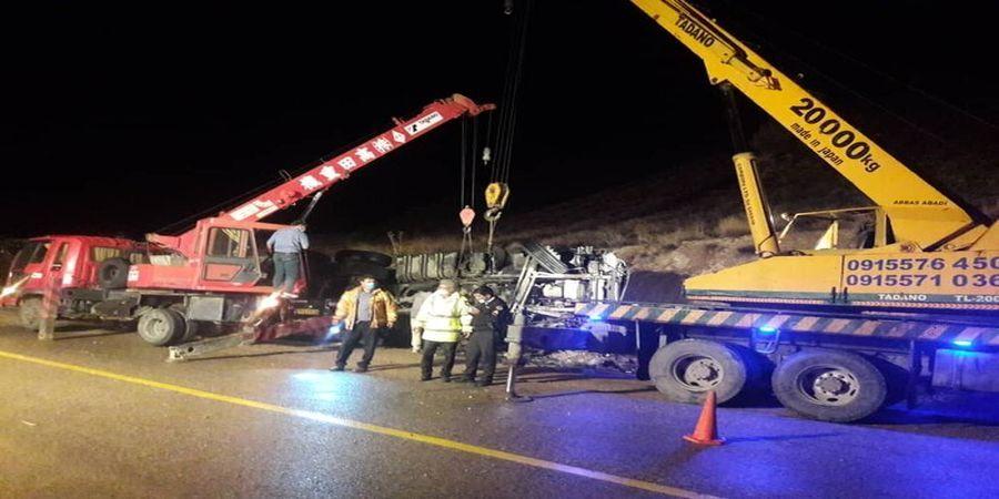 تصادف امروز در محور اسفراین _ بجنورد یک نفر کشته داشت