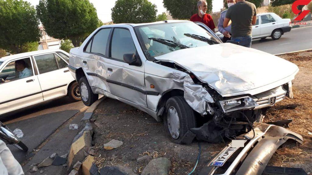 خبر تصادف مرگبار امروز با تیر چراغ در اصفهان