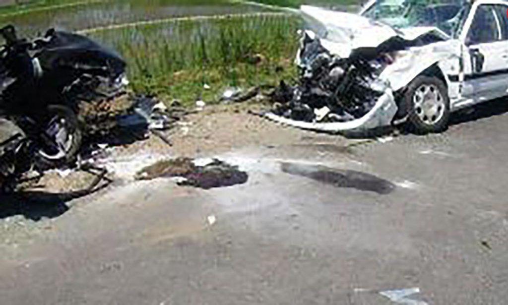 خبر تصادف مرگبار امروز پراید و پژو  پارس در گیلان