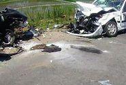 تصادف مرگبار پراید و پژو در گیلان متاسفانه ۳ نفر  جان باختند