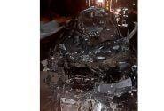 تصادف مرگبار در بهشت زهرا بین خودروی سواری و کامیون