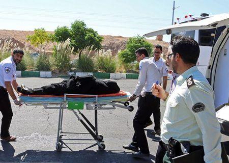 تصادف مرگبار پراید با عابر پیاده در تهران منجر به مصدوم شدن عابر گردید