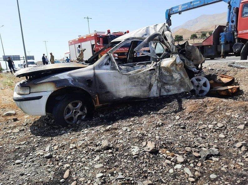 خبر تصادف مرگبار امروز  تهران_کرج