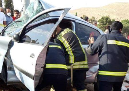 تصادف مرگبار امروز شیراز یک کشته و یک مصدوم بر جای گذاشت